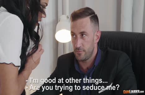 Аполония Лапьедра знает как пройти собеседование на работу